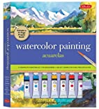 Watercolor Painting Kit: A complete painting…