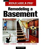 Remodeling A Basement Revised Edition…