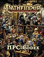 Pathfinder Roleplaying Game: NPC Codex by…