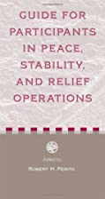 Guide for Participants in Peace, Stability,…