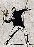 "Banksy: Banksy ""Flower Bomber"""