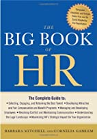 The Big Book of HR by Barbara Mitchell