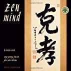 Zen Mind 2014 Wall Calendar by Shunryu…