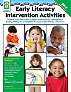 Early Literacy Intervention Activities,…