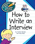 How to Write an Interview (Language Arts…