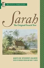 Sarah: The Original French Text (Texts and…