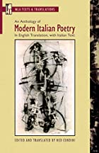 Anthology of Modern Italian Poetry: In…