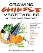Growing Chinese Vegetables in Your Own…