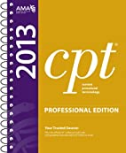 CPT 2013 Professional Edition (Current…