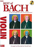 Best of Bach: 12 Solo Arrangements with CD…