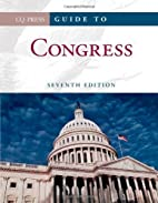 Guide to Congress by CQ Press
