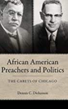African American Preachers and Politics: The…