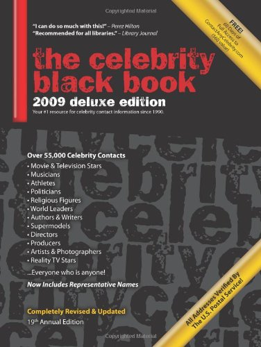 the-celebrity-black-book-2009-over-55000-accurate-celebrity-addresses-for-fans-businesses-nonprofits-authors-and-the-media
