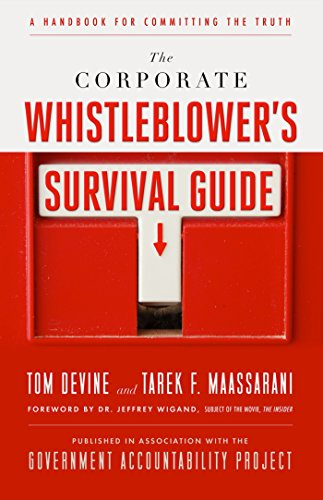 the-corporate-whistleblowers-survival-guide-a-handbook-for-committing-the-truth