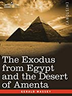 The Exodus from Egypt and the Desert of…