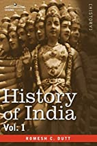 HISTORY OF INDIA, in nine volumes: Vol. I -…