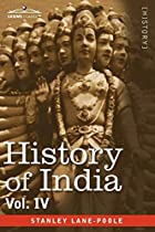 HISTORY OF INDIA, in nine volumes: Vol. IV -…
