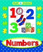 Play-a-Puzzle Numbers Book by Editors of…