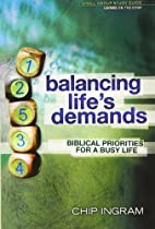 Balancing Life's Demands Study Guide:…
