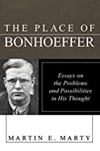 The place of Bonhoeffer: problems and…