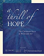 A Thrill of Hope by Morehouse Education…