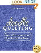 Doodle Quilting: Over 120 Continuous-Line Machine-Quilting Designs