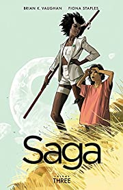 Saga, Vol. 3 by Brian K Vaughan