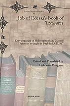 Job of Edessa's Book of Treasures:…