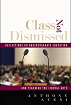 Class Not Dismissed: Reflections on…