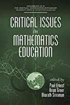 Critical Issues In Mathematics Education…