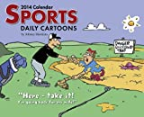 Jonny Hawkins: Sports Cartoon A Day 2014 Box Calendar by Jonny Hawkins