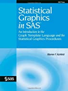 Statistical Graphics in SAS: An Introduction…