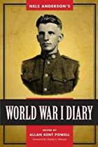 Nels Anderson's World War I diary by Nels…