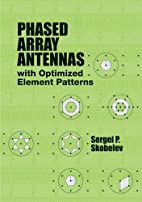 Phased Array Antennas with Optimized Element…