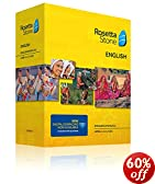 Learn American English | Rosetta Stone Level 1-5 Set | PC/Mac