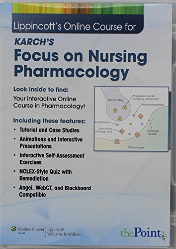 lippincotts-online-course-for-karchs-focus-on-nursing-pharmacology
