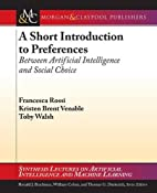 A short introduction to preferences :…