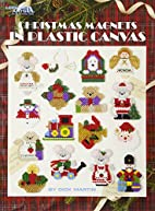Christmas Magnets in Plastic Canvas by Dick…