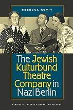 The Jewish Kulturbund Theatre Company in…