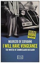 I Will Have Vengeance (Commissario…
