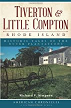 Tiverton and Little Compton, Rhode Island:…
