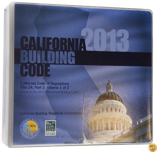 2013 California Building Code, Title 24 Part 2 (2 volumes - includes parts 8 & 10)
