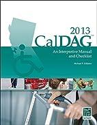 CalDAG 2013: An Interpretive Manual and…