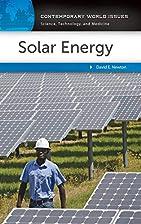 Solar Energy: A Reference Handbook…
