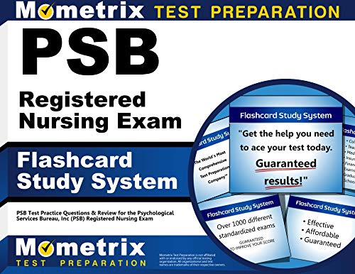 psb-registered-nursing-exam-flashcard-study-system-psb-test-practice-questions-review-for-the-psychological-services-bureau-inc-psb-registered-nursing-exam-cards