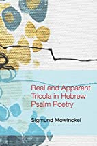 Real and apparent tricola in Hebrew psalm…