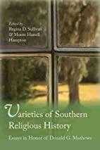 Varieties of southern religious history :…