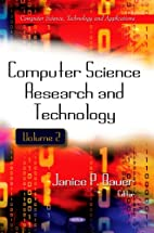 Computer Science Research and Technology…