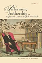 Performing authorship in eighteenth-century…