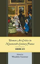Women Art Critics in Nineteenth-Century…